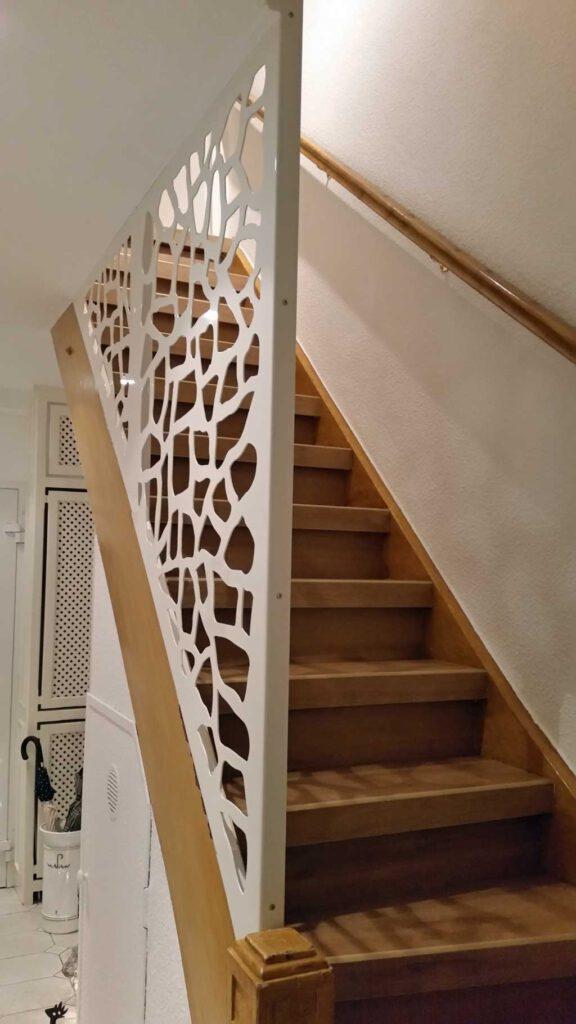 Absturzsicherung Treppe