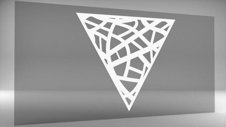 Lochblech Dreieck
