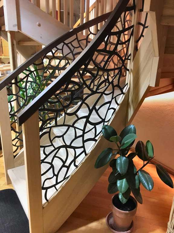 Treppengeländer Lochblech modern